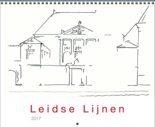 De Leidse Lijnen kalender 2017 is er!