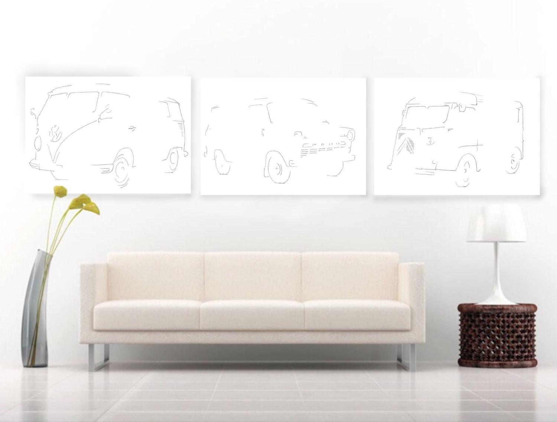 serie-bestelwagens-tekening