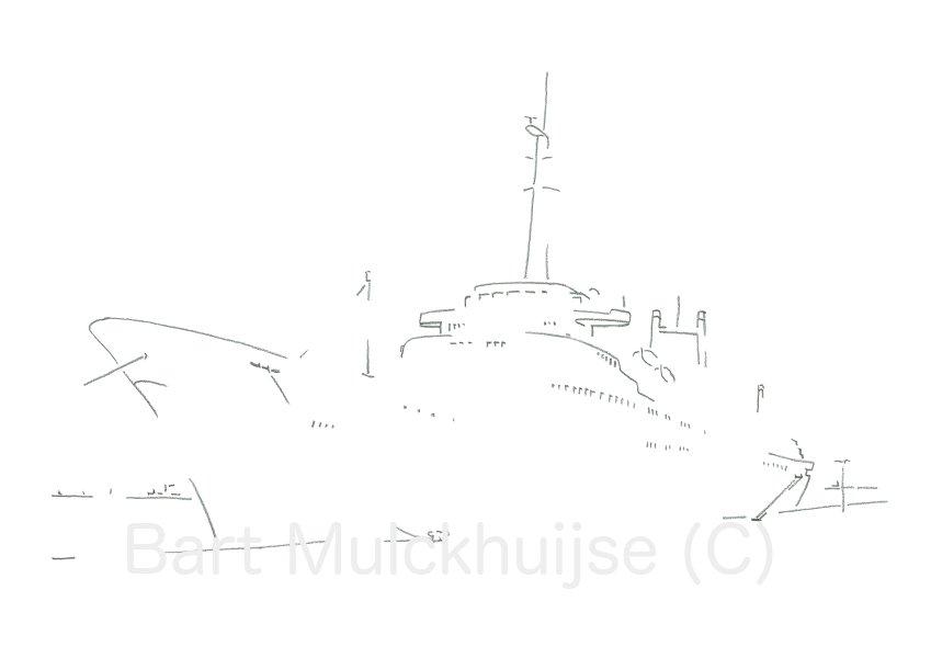 Stoomschip - SS Rotterdam