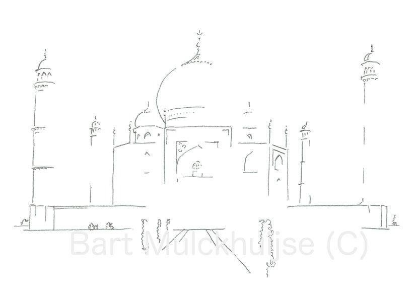 Taj Mahal - Uttar Pradesh - India